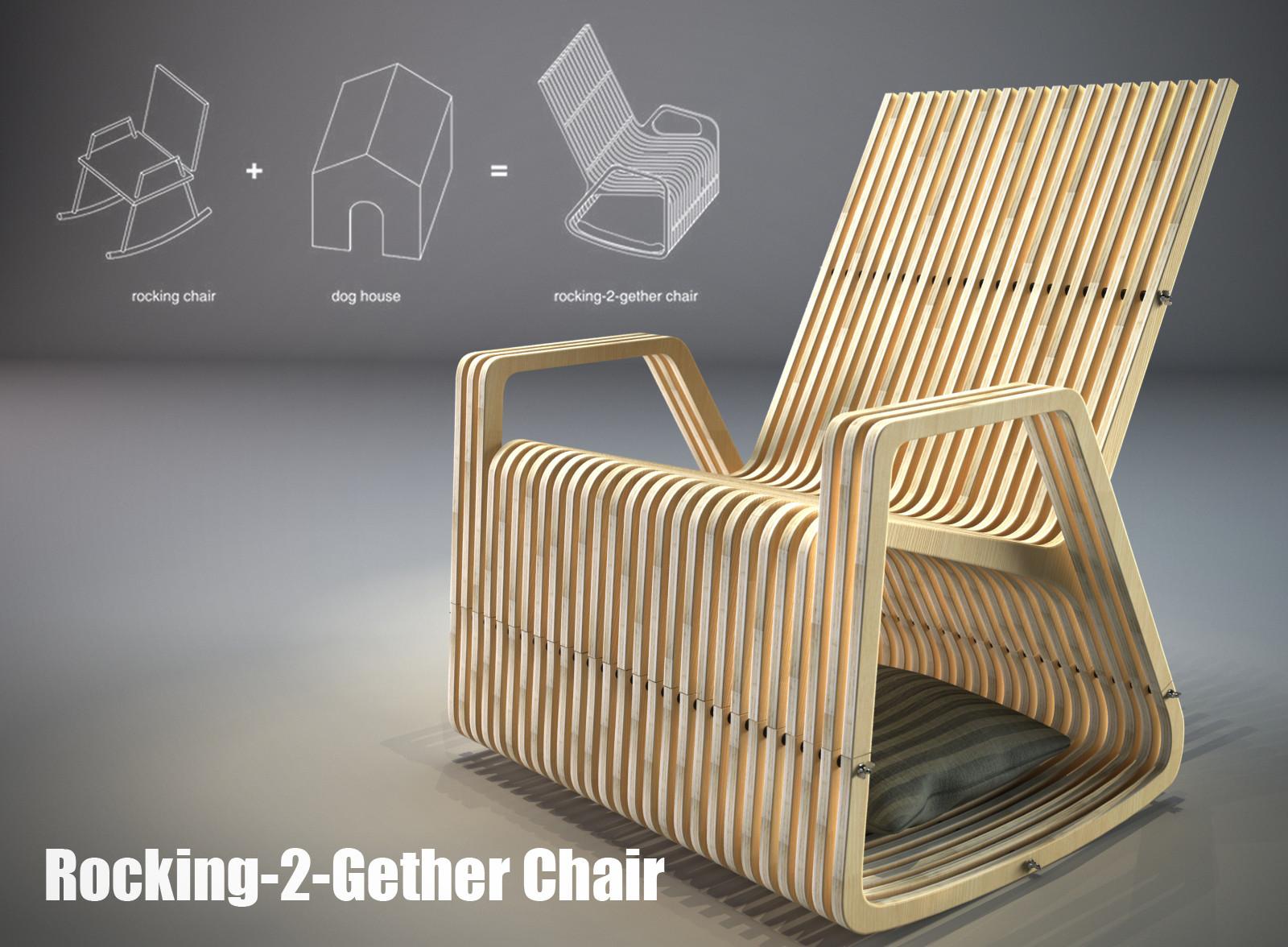 2 Rocking Gether Stoyko Artstation ChairMark 29YHWEDI