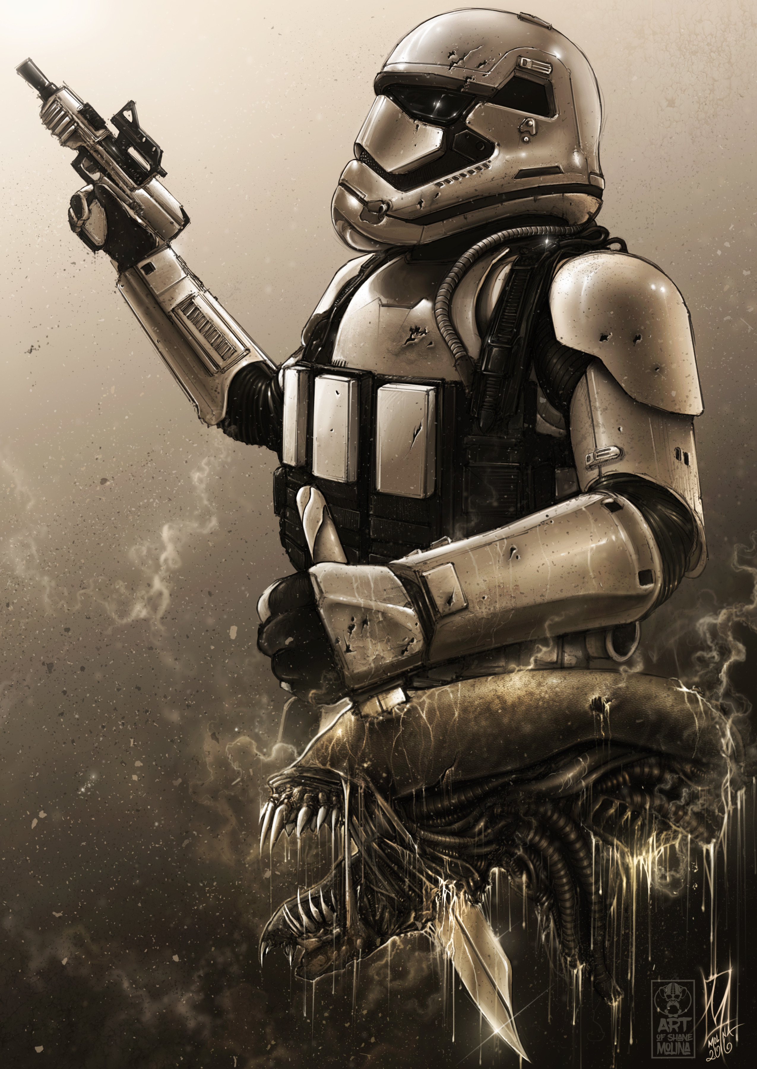 Stormtrooper's trophy