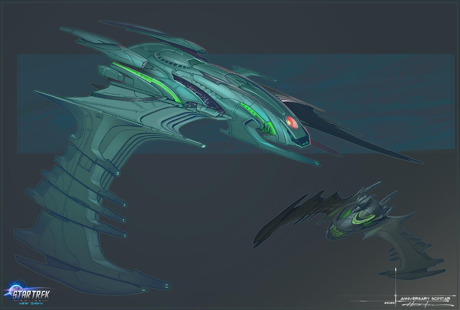 Scimitar Romulan Variant 2