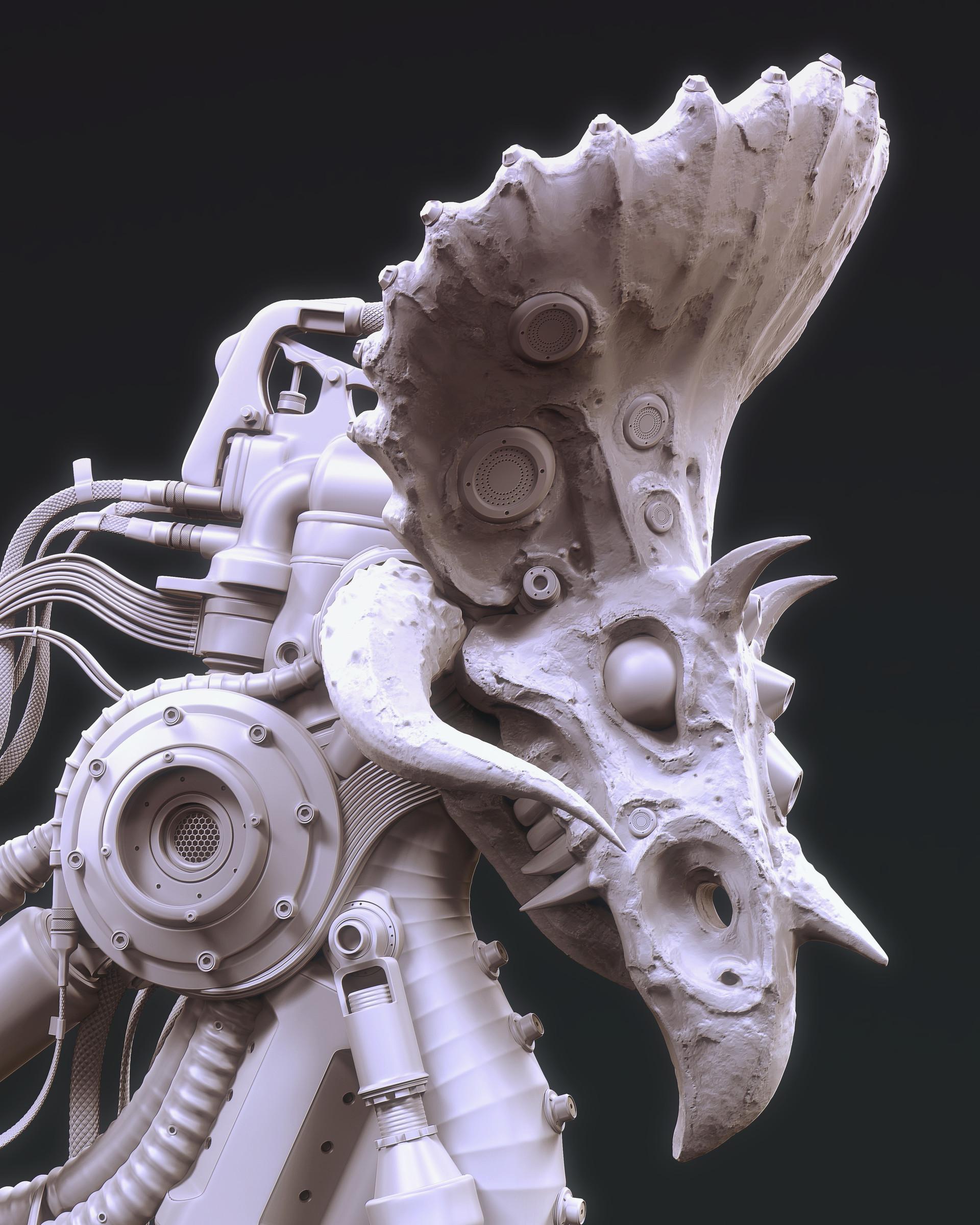 Mark van haitsma ip triceratops gray render sm