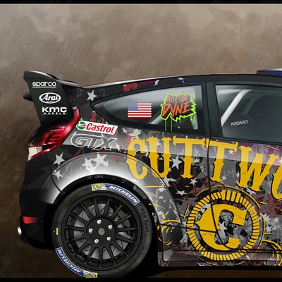 Javier oquendo ford fiesta rs rx
