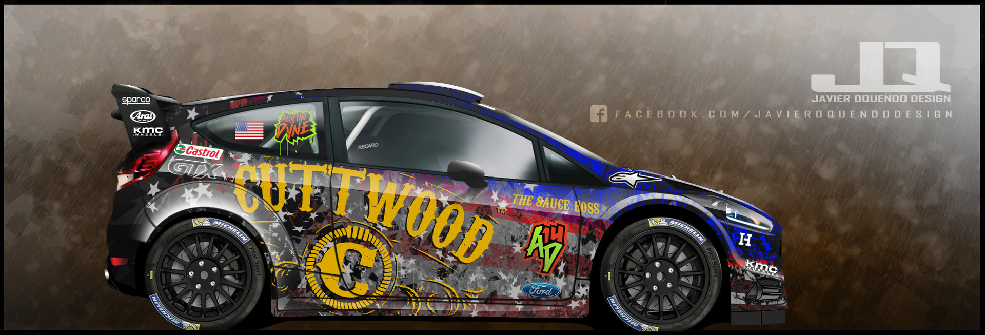 Austin Dyne - Cuttwood Racing