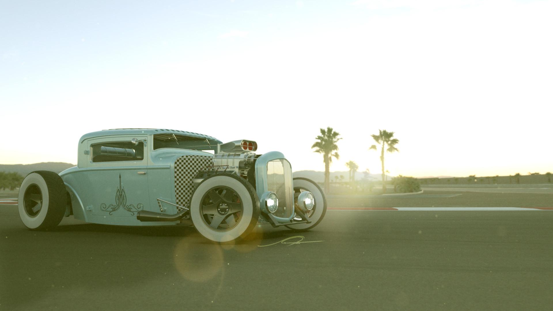 Stephan Tobias - 1930 Ford Model A Coupé Hot Rod
