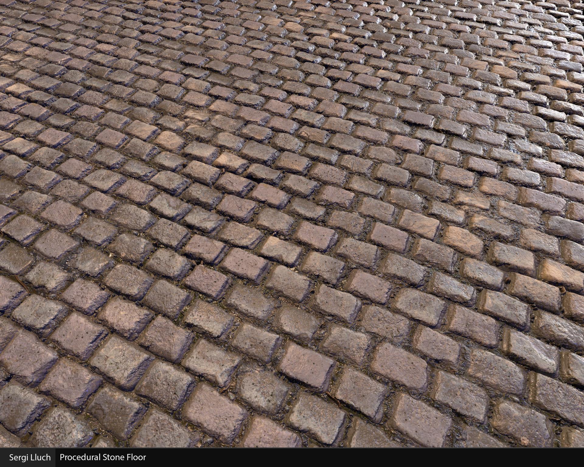 Sergi lluch stone floor render2