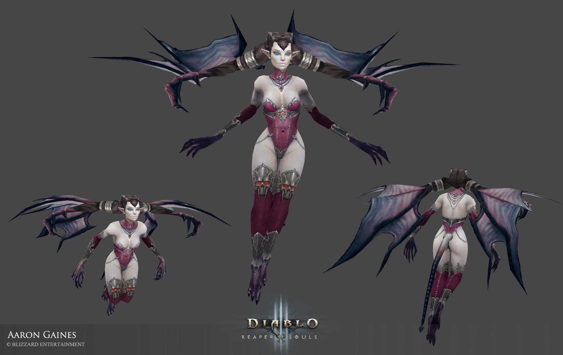 ArtStation - Diablo 3 Pets update, Aaron Gaines