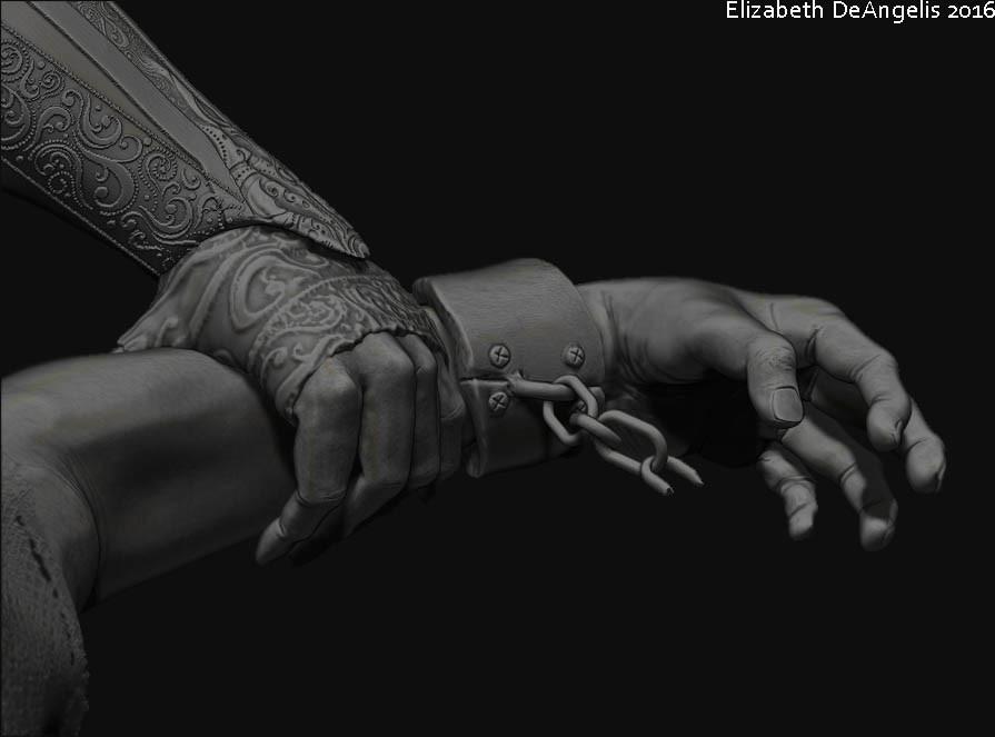 ArtStation - Duality, Elizabeth DeAngelis
