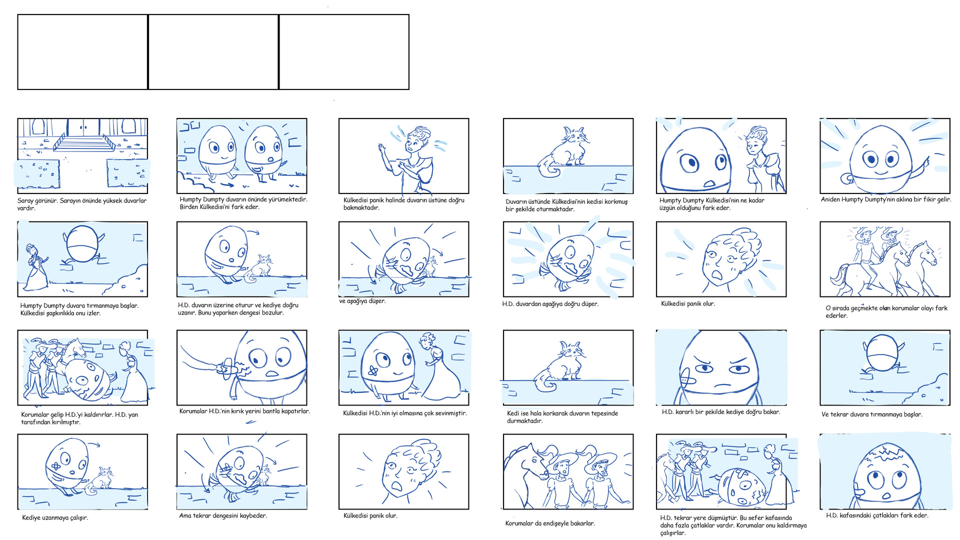 ArtStation - Cindrella and Humpty Dumpty Nursery Rhyme