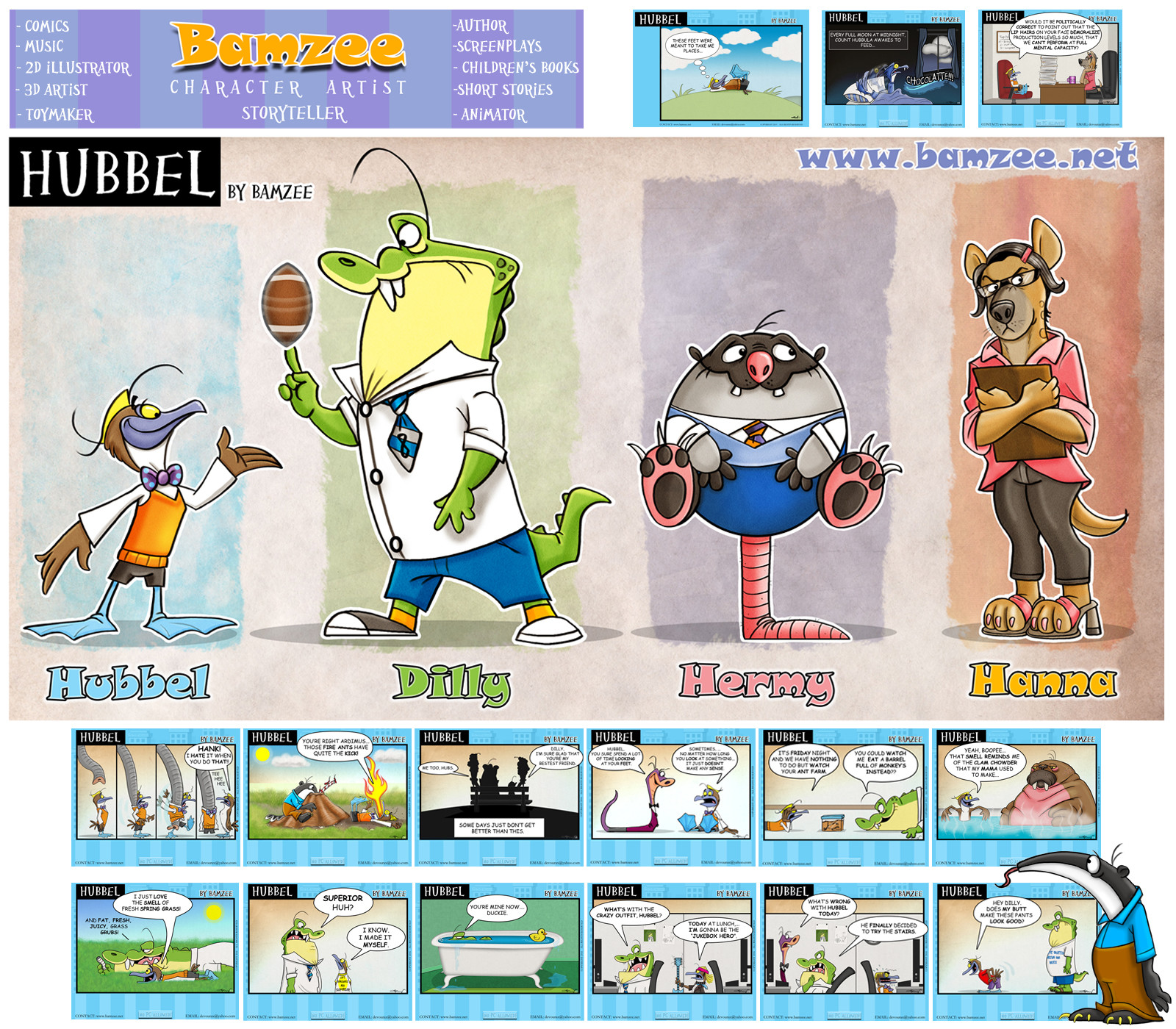B allen bamzee patreon page2
