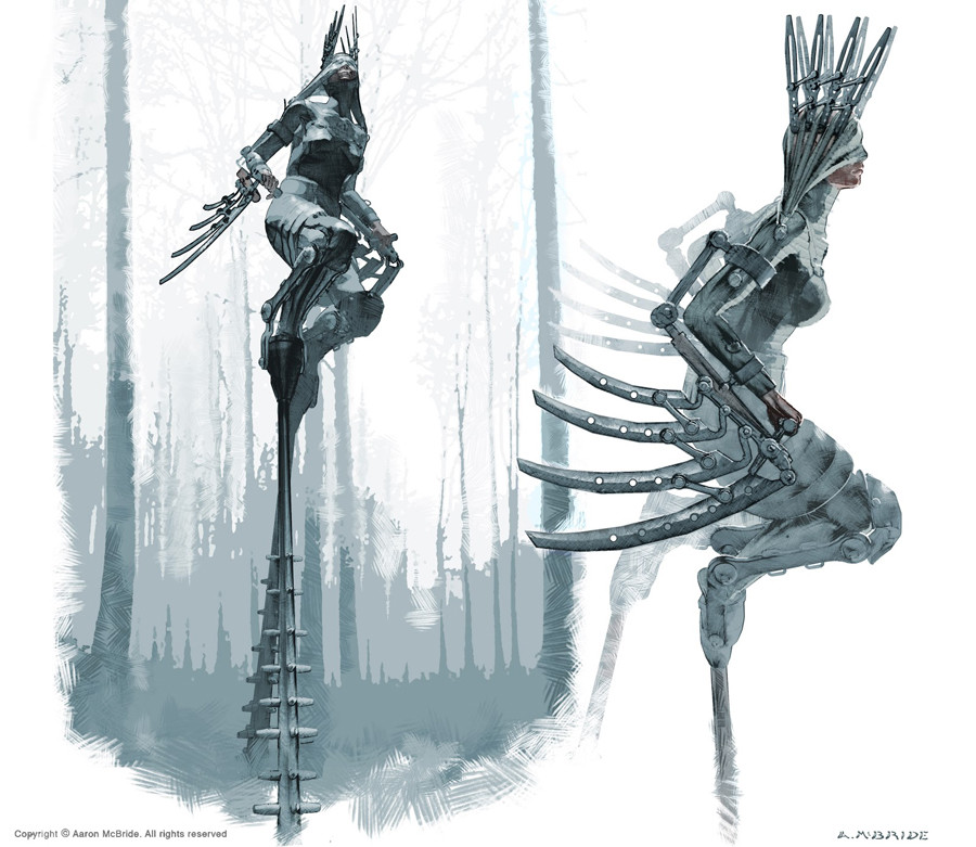 Aaron mcbride deadtreemantis rough studies