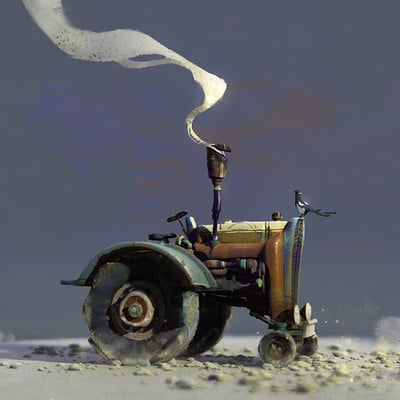 Lip comarella traktor color