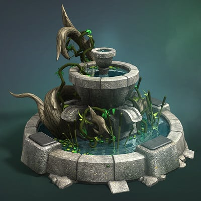 Vladimir voronov razdor elf fountain