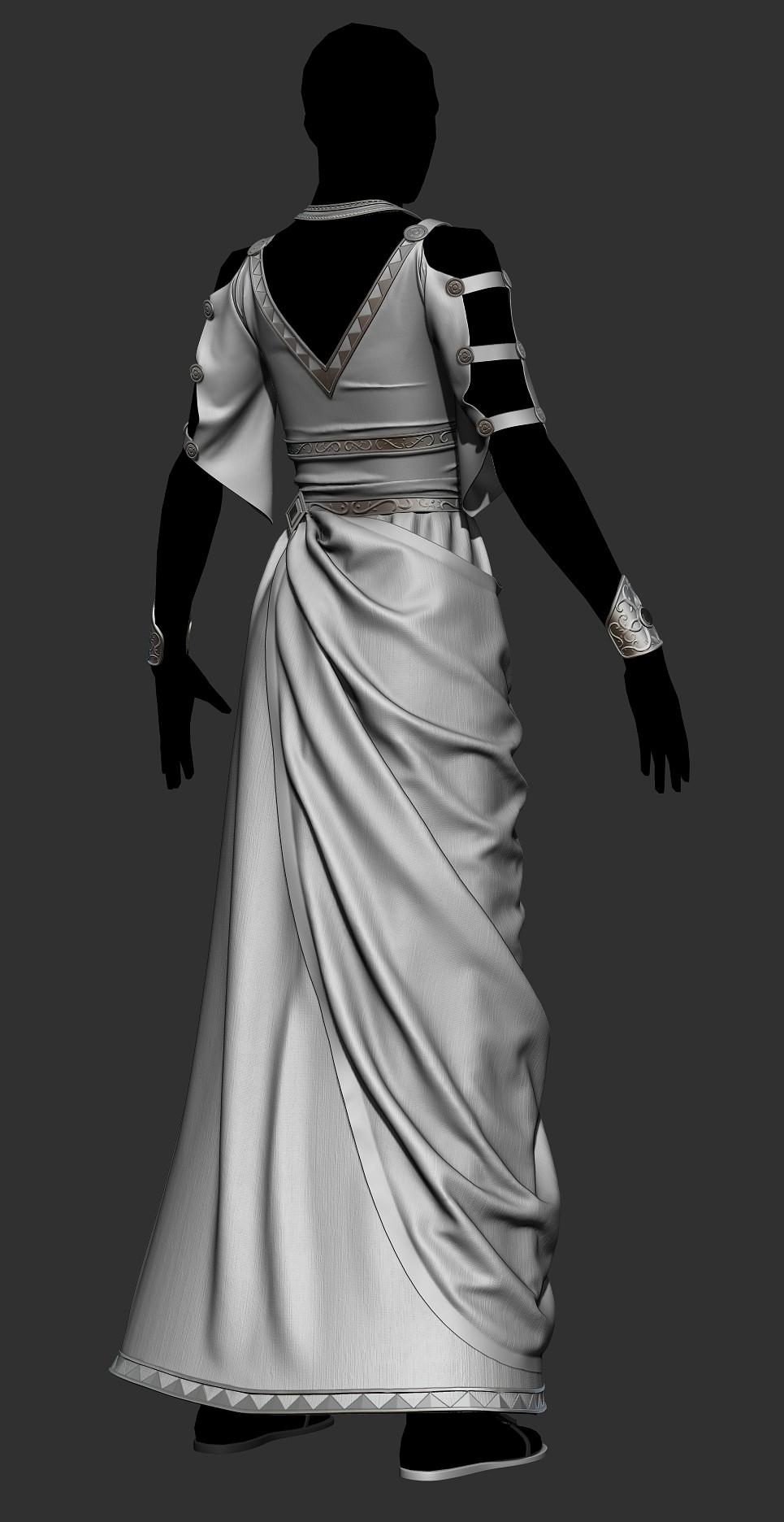 Ricardo graham imperial feminine outfit 02