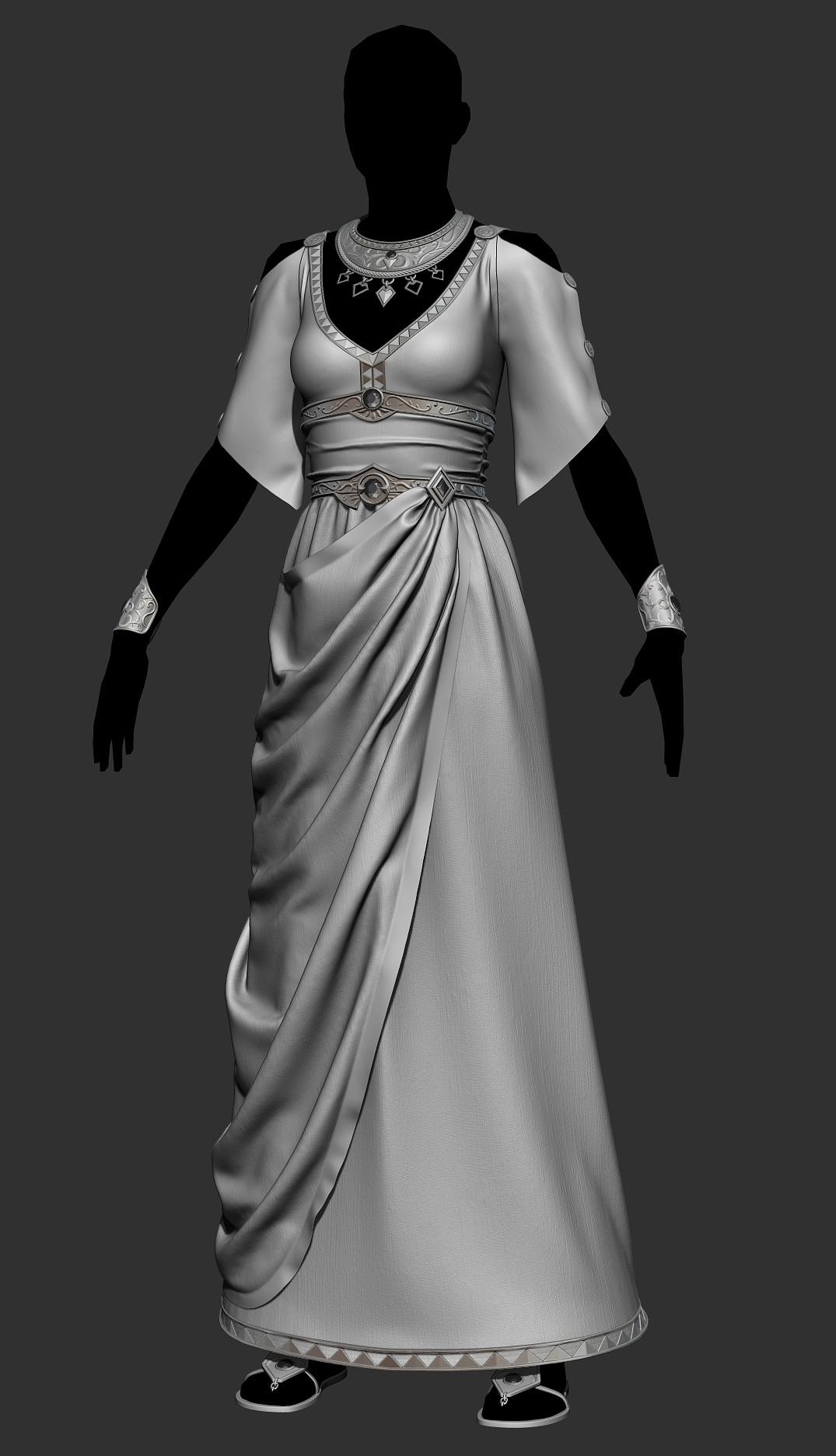 Ricardo graham imperial feminine outfit 01