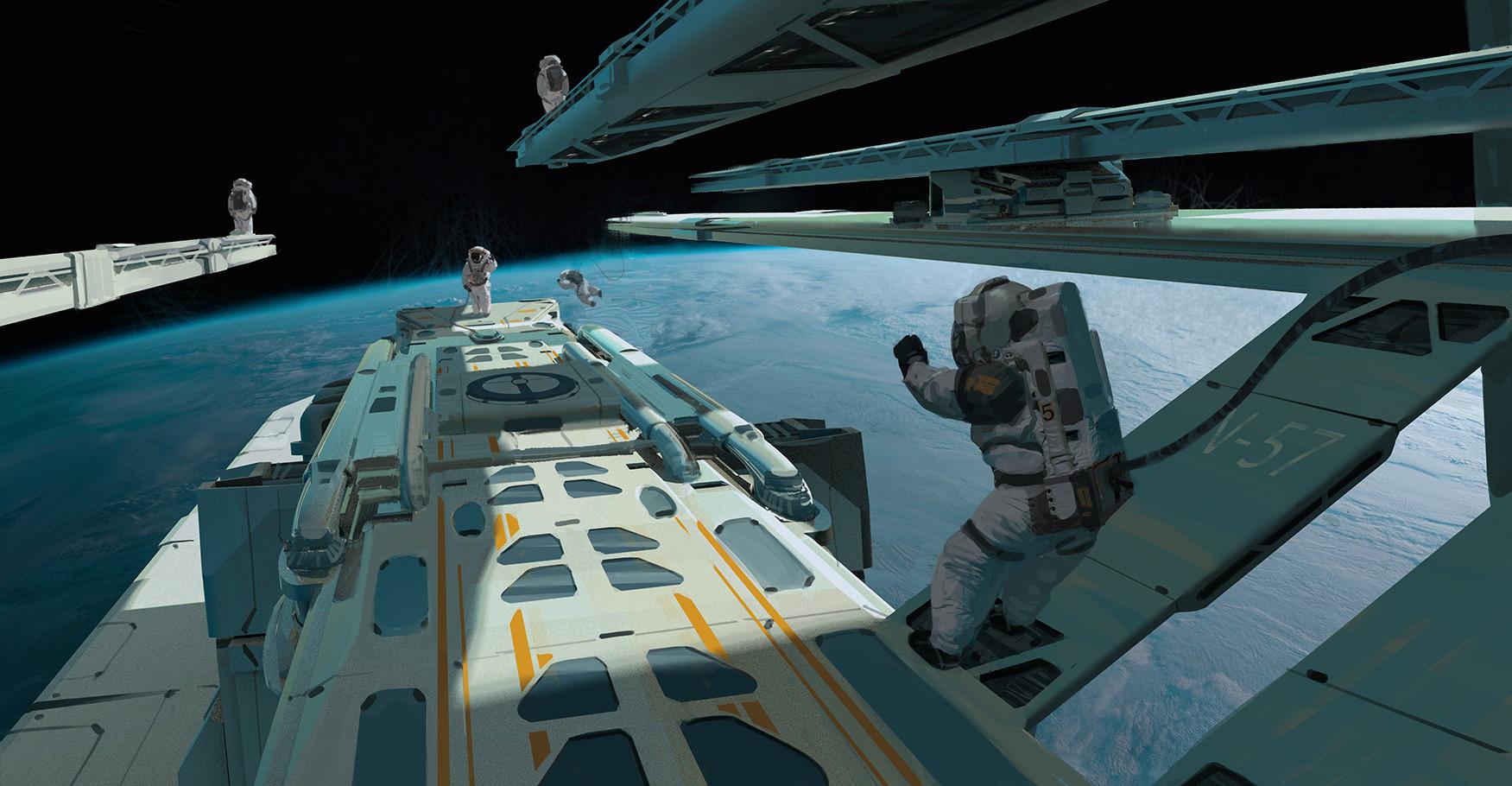 Jad saber space diving