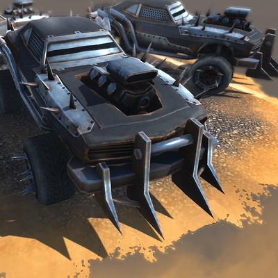 Evozon game studio screenshot car 4