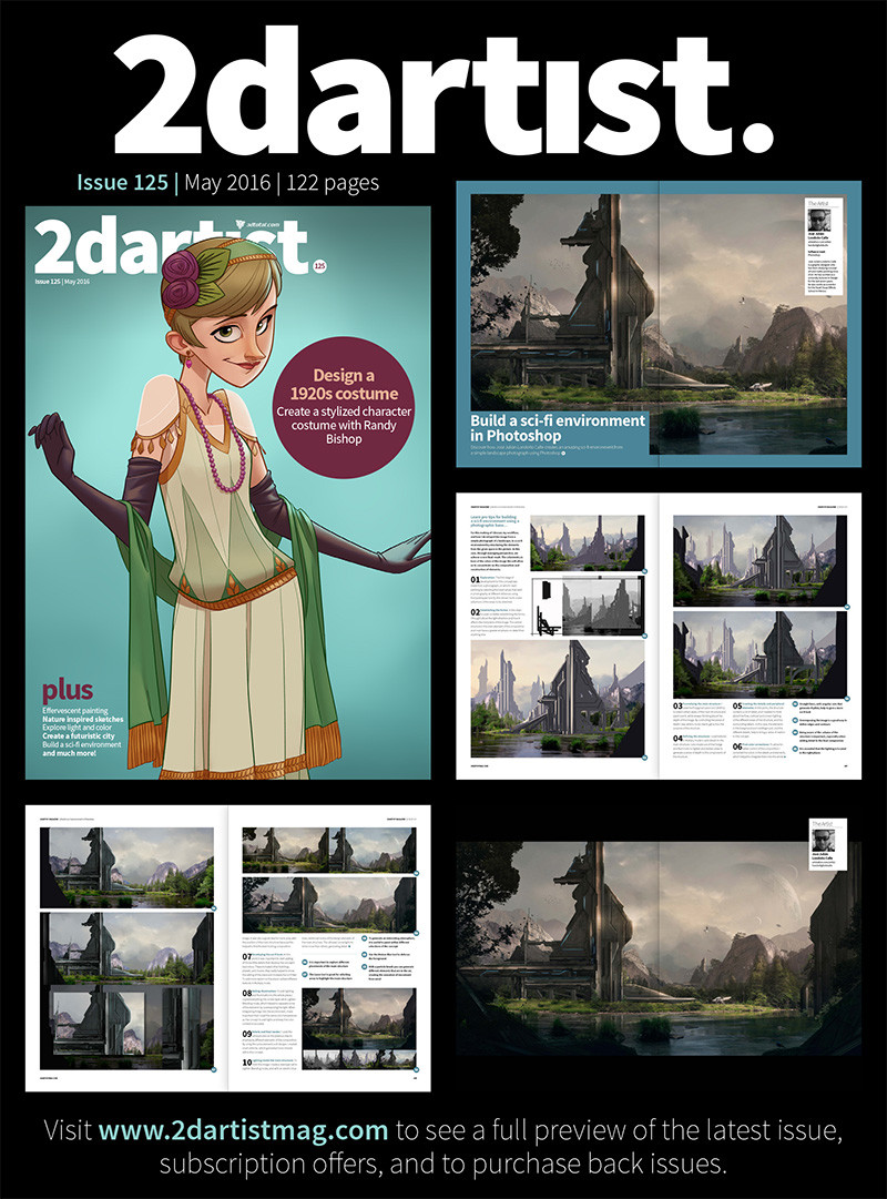 2d artist tutorial -  publication # 125.