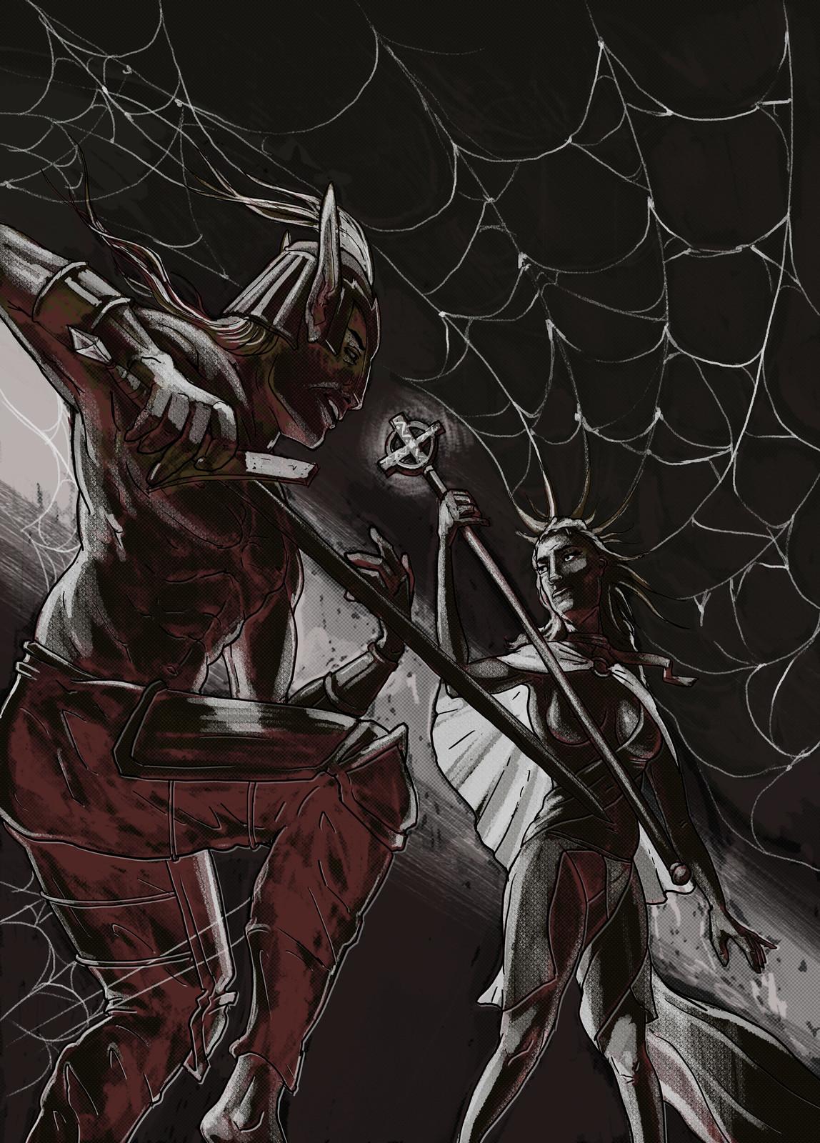 Spider Chess illustration