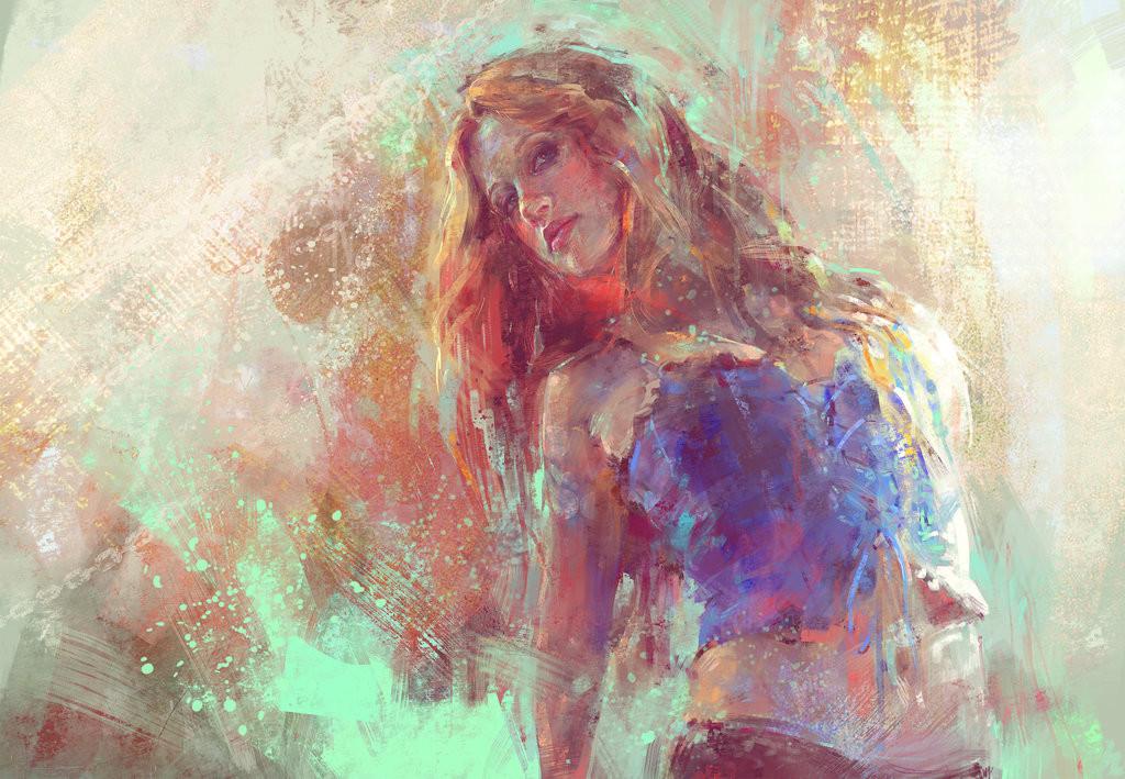 Selfportrait Impressionism