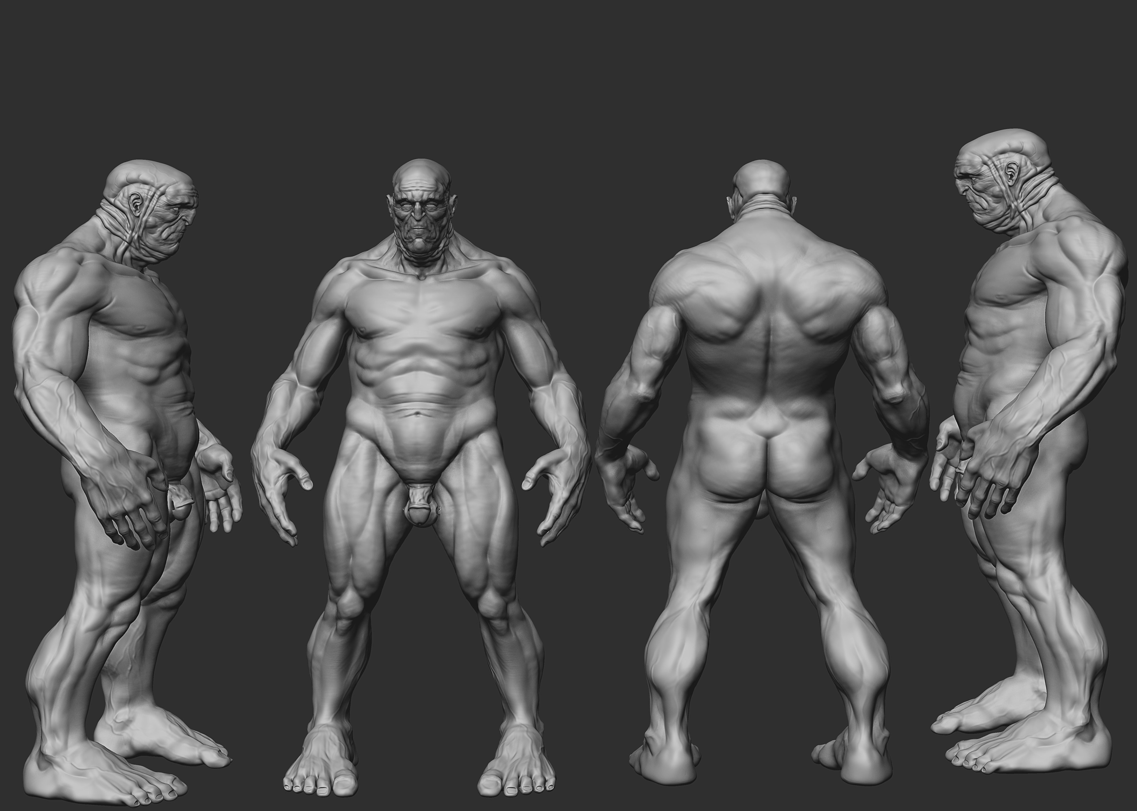 body study(first concept)WIP
