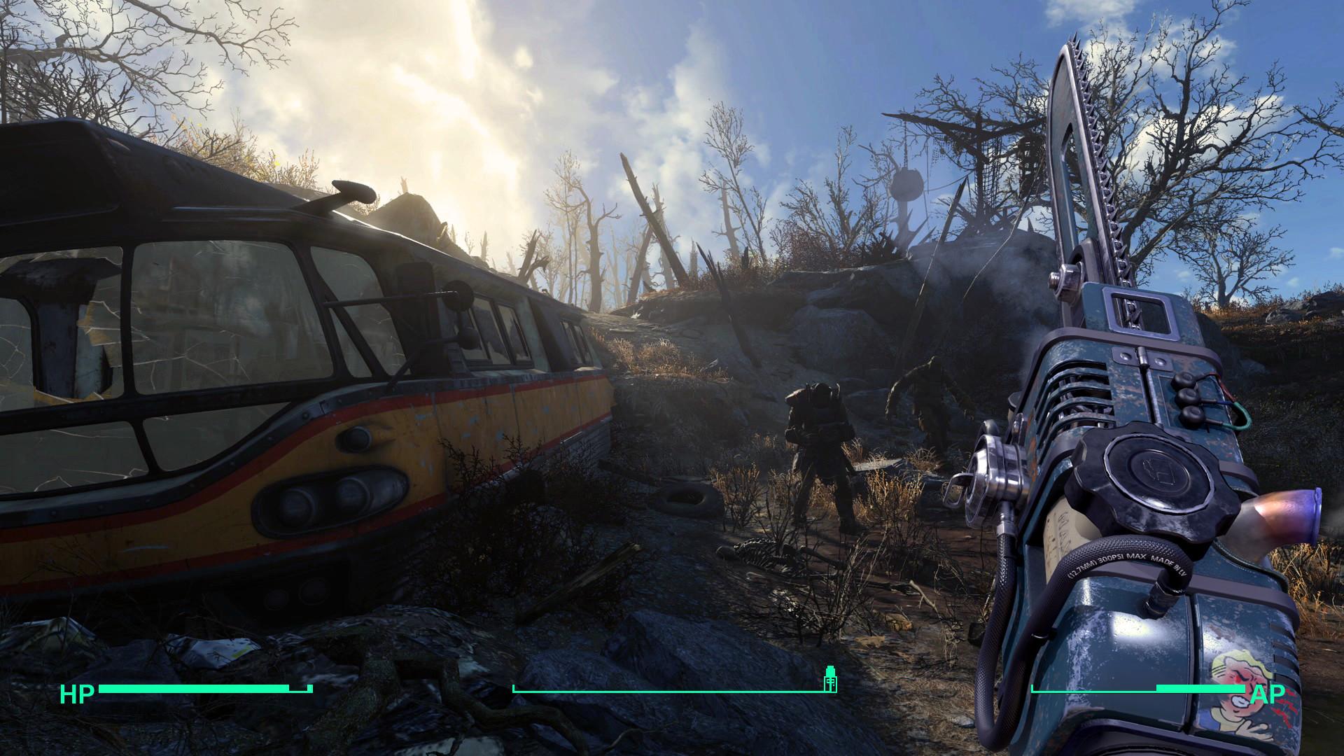 ArtStation - Fallout 4 The Ripper, Kaspars Pavlovskis