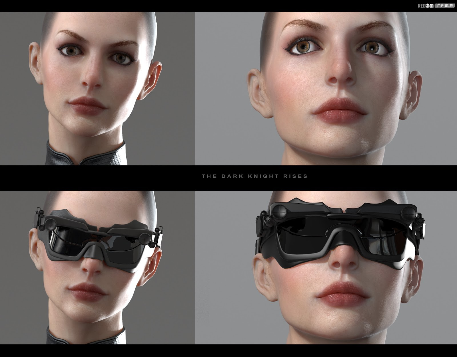 Catwoman 3d sexy clip