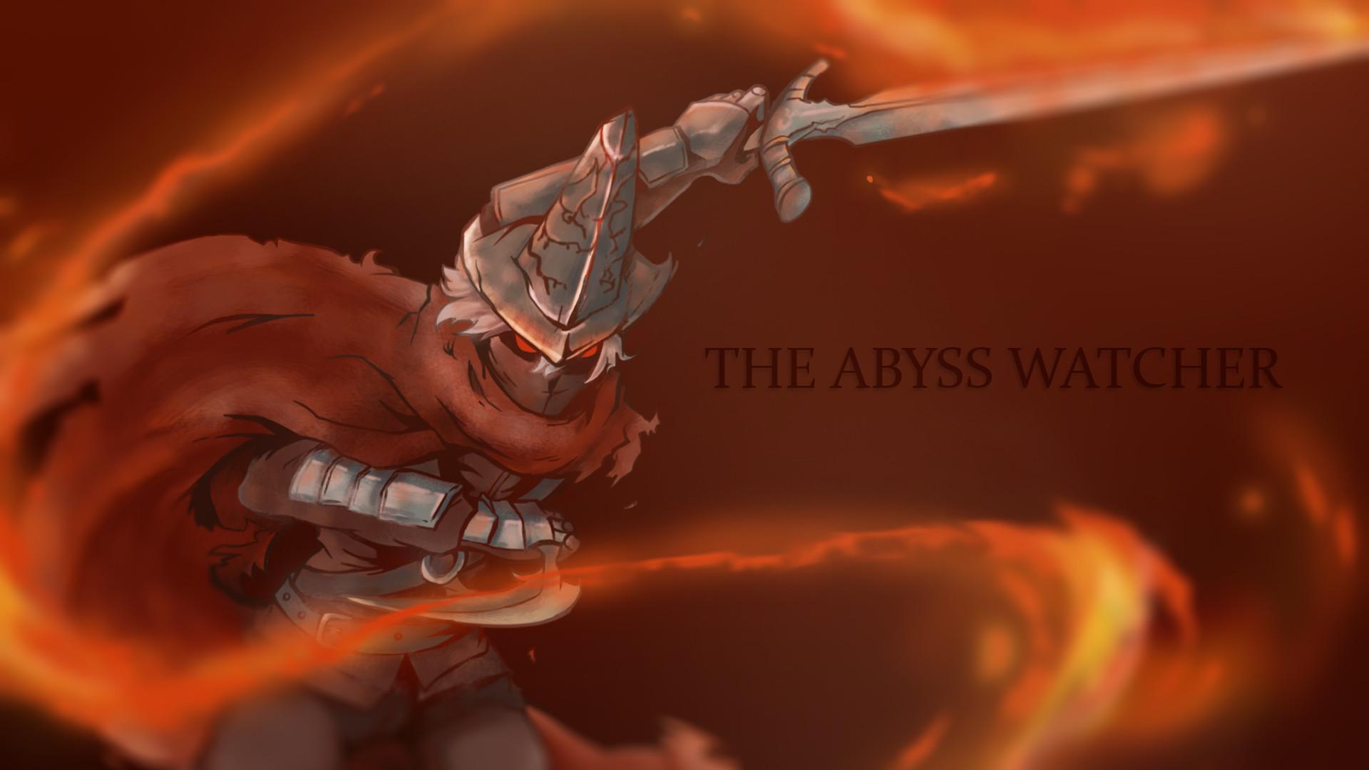 Wallpaper Dark Souls 3 Abyss Watchers Pict Art