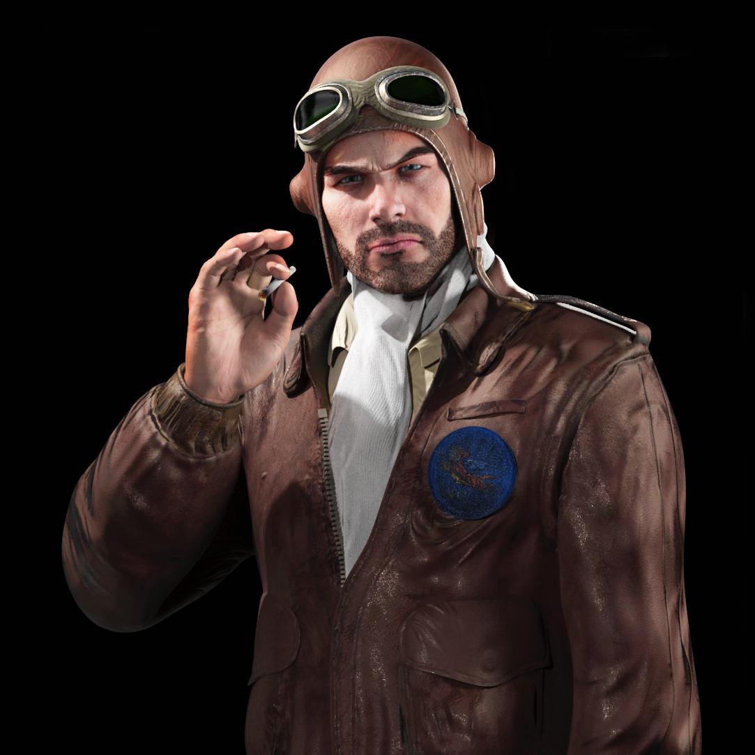 Juan martin garcia forn avg pilot