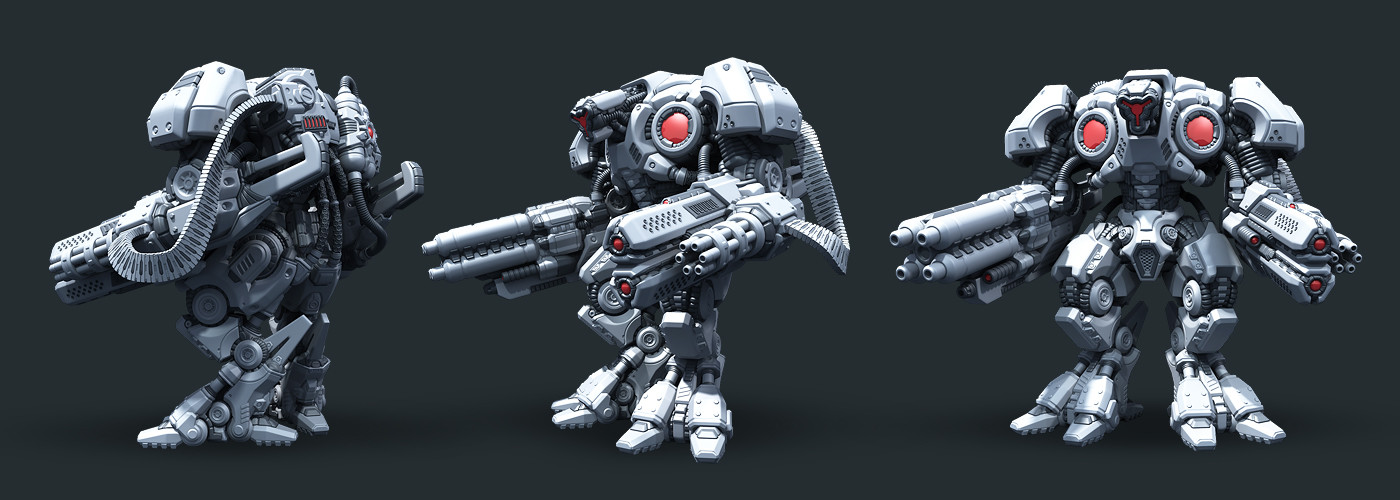 Vladimir voronov warmachine highpoly07