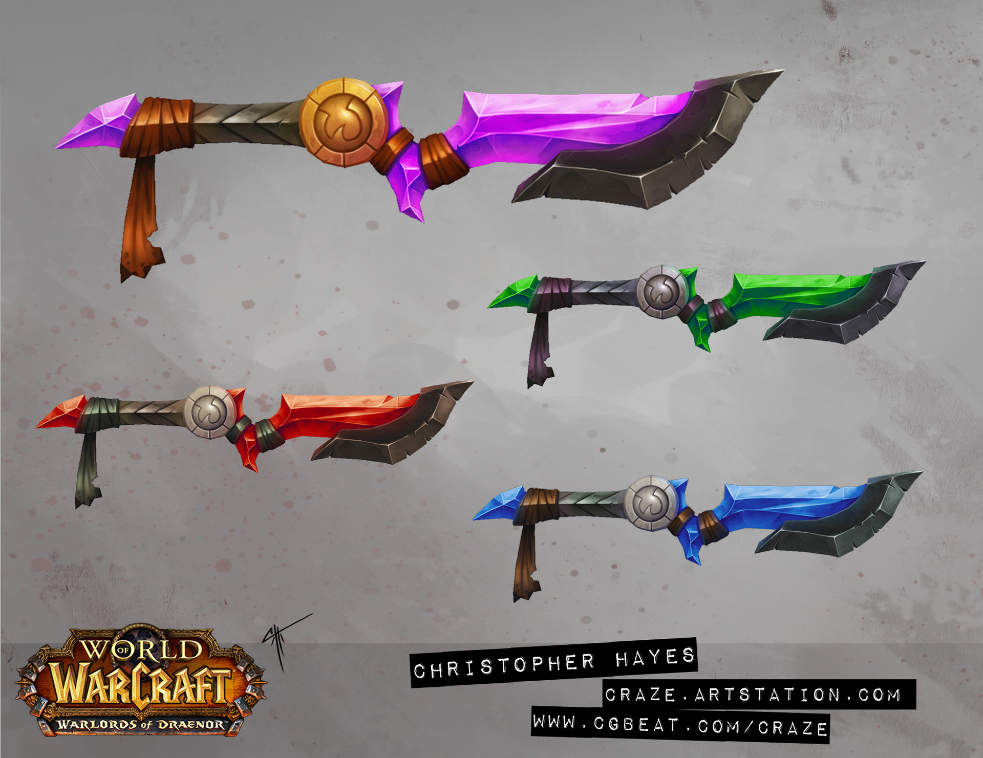 Christopher hayes dagger 02 draenor