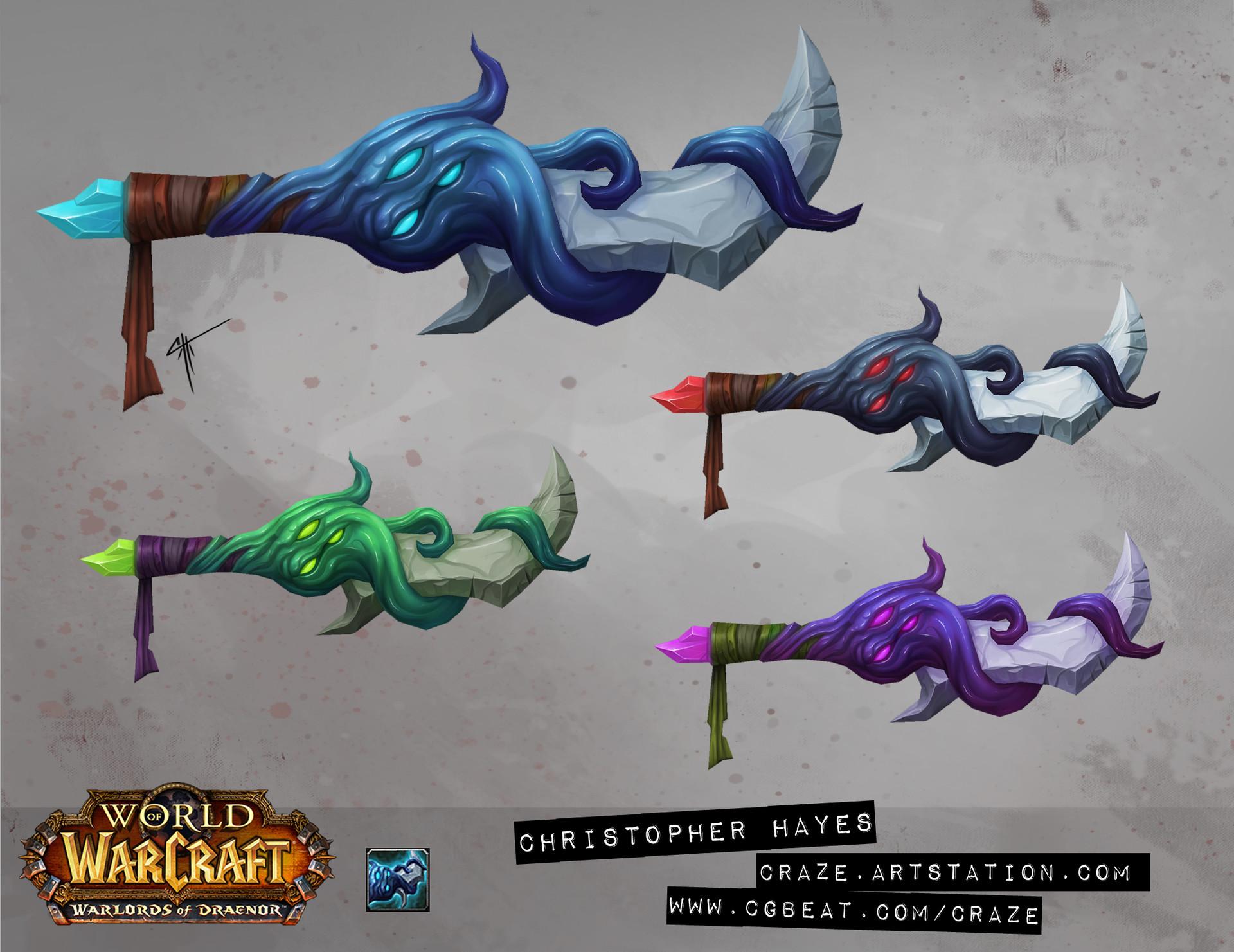 Christopher hayes dagger 04 draenor