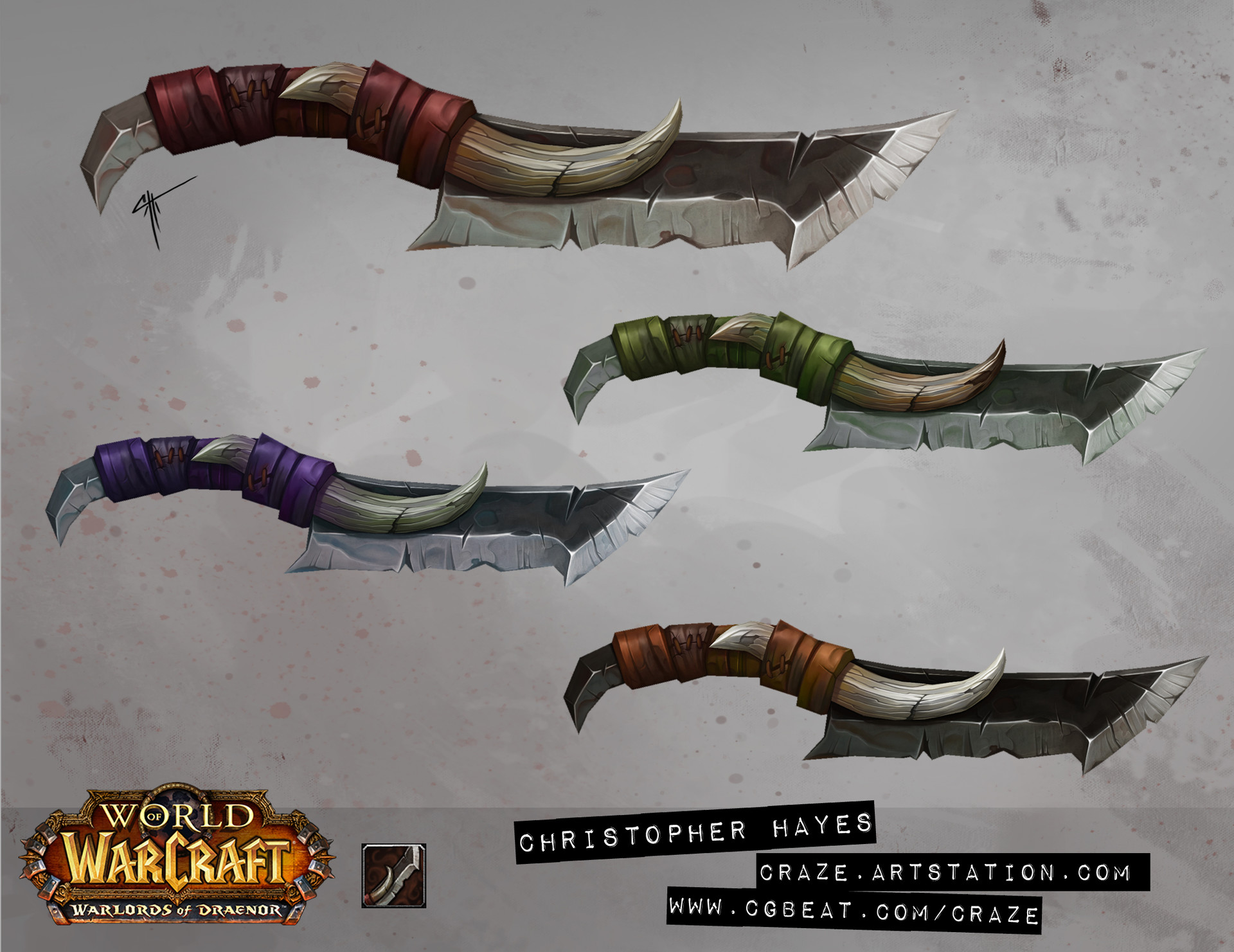 Christopher hayes dagger 05 draenor