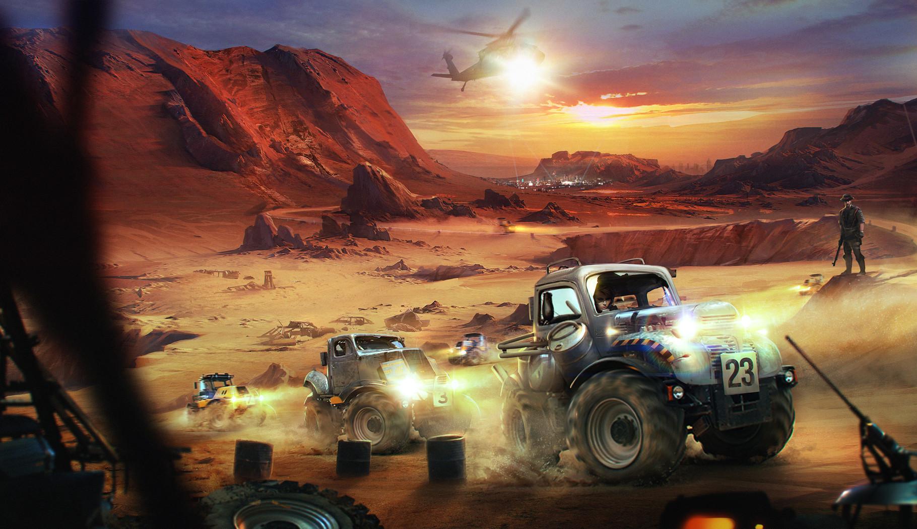 Heri irawan offroad monster tractor race
