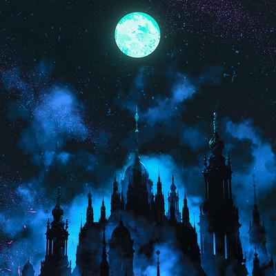 Andrea guardino castle in the sky