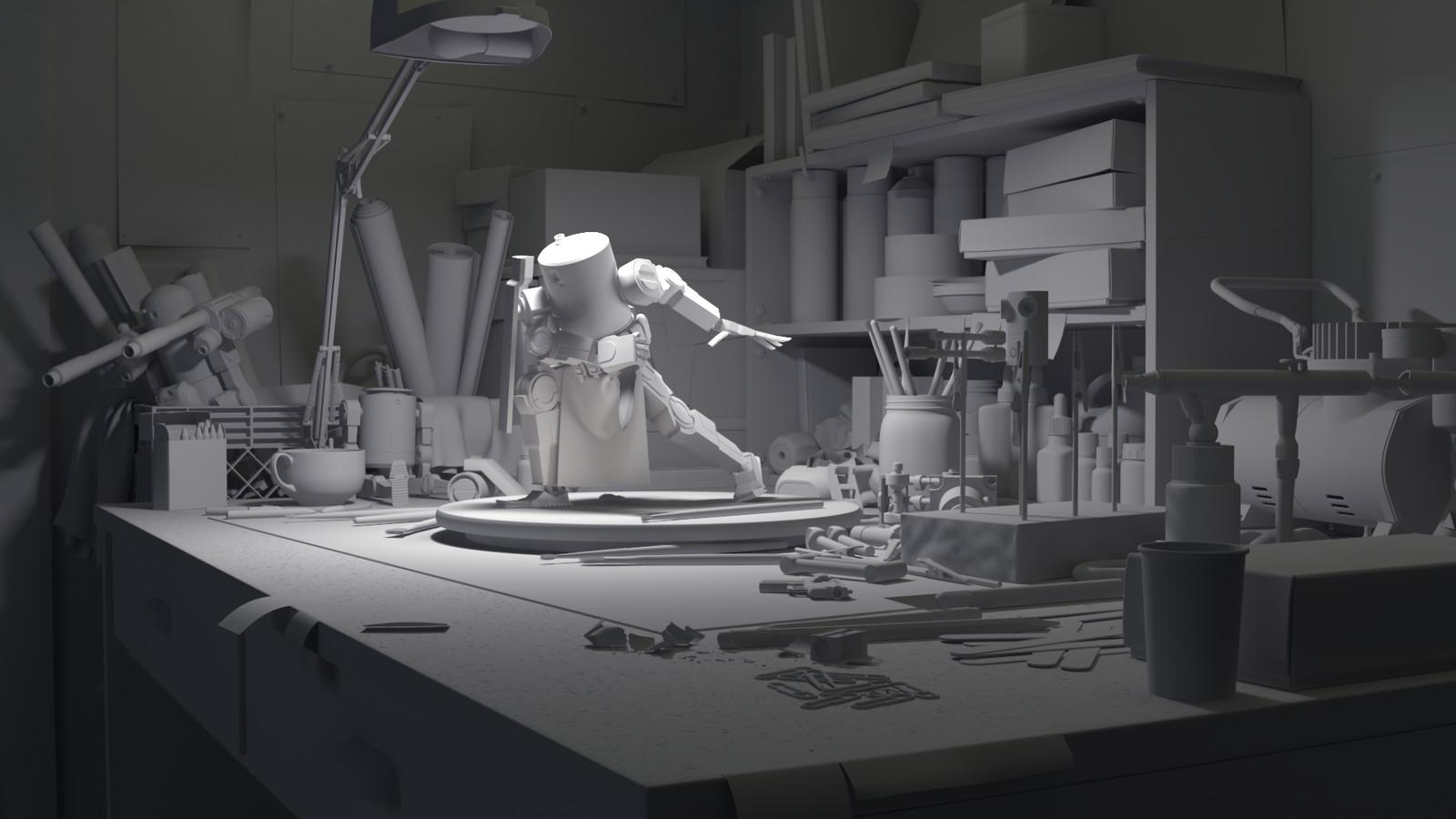 Workbench - 2014 Greyscale