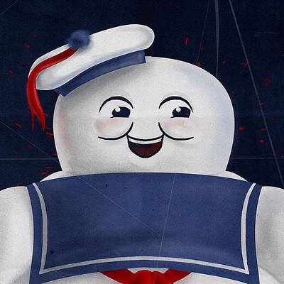 Lorena loguen stay puft marshmallow man by lorena loguen