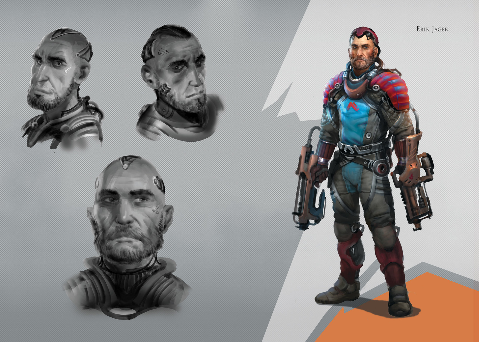 Project Yggdrasil - Characters - Erik Jager