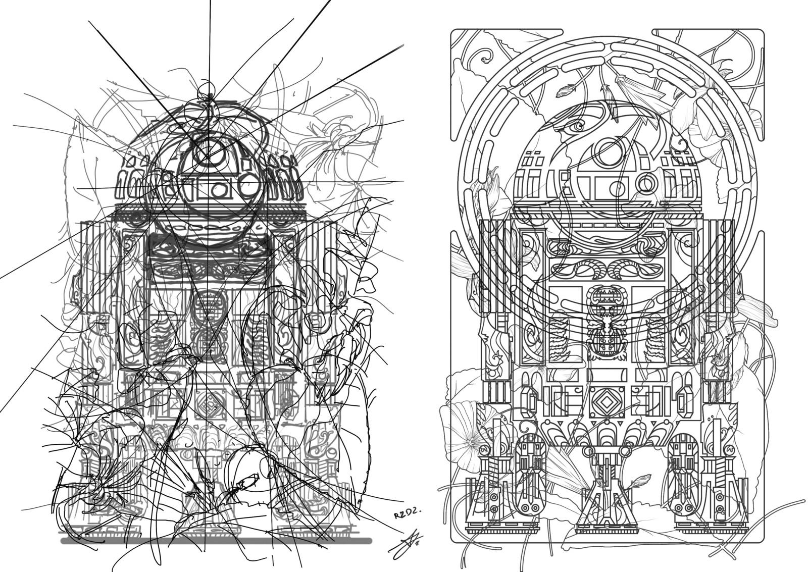 Sketch & Lineart