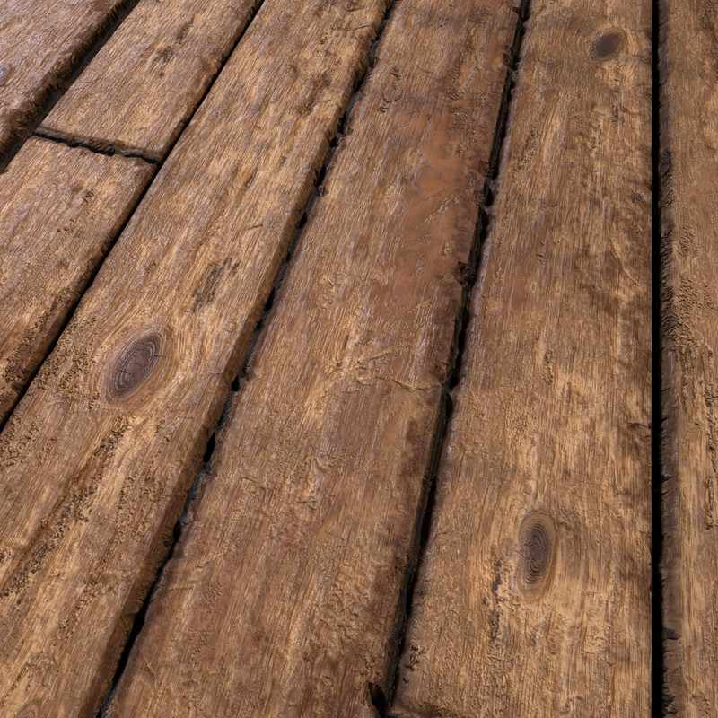 Old Wood Planks Substance