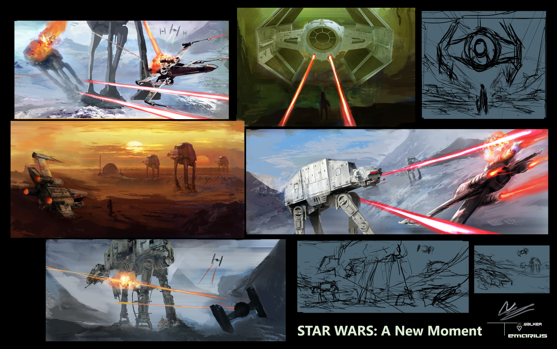 Temarius walker star wars thumbnails 01
