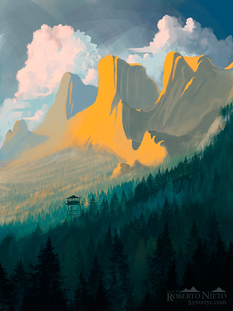 Roberto nieto firewatch by syntetyc da4b2cr