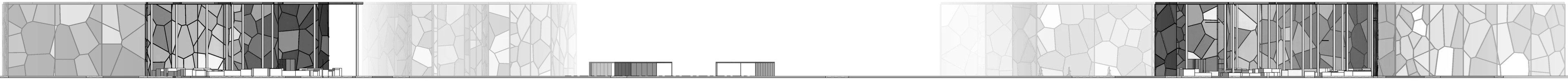 section through site