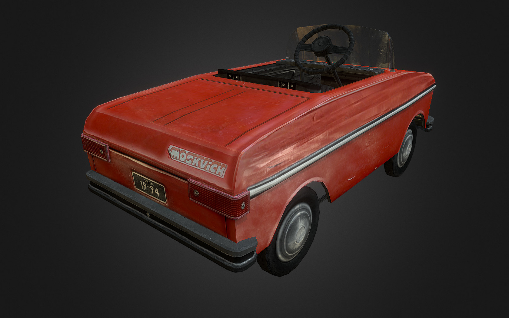 Moskvich Pedal Car