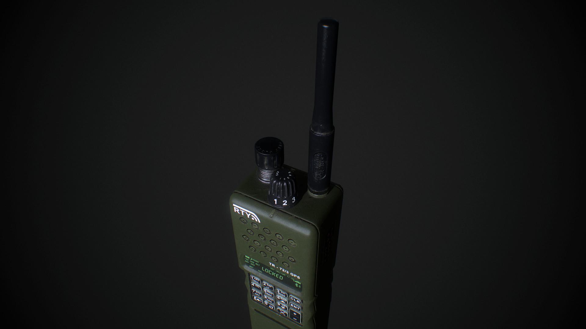 Marius Popa - Military Handheld Radio