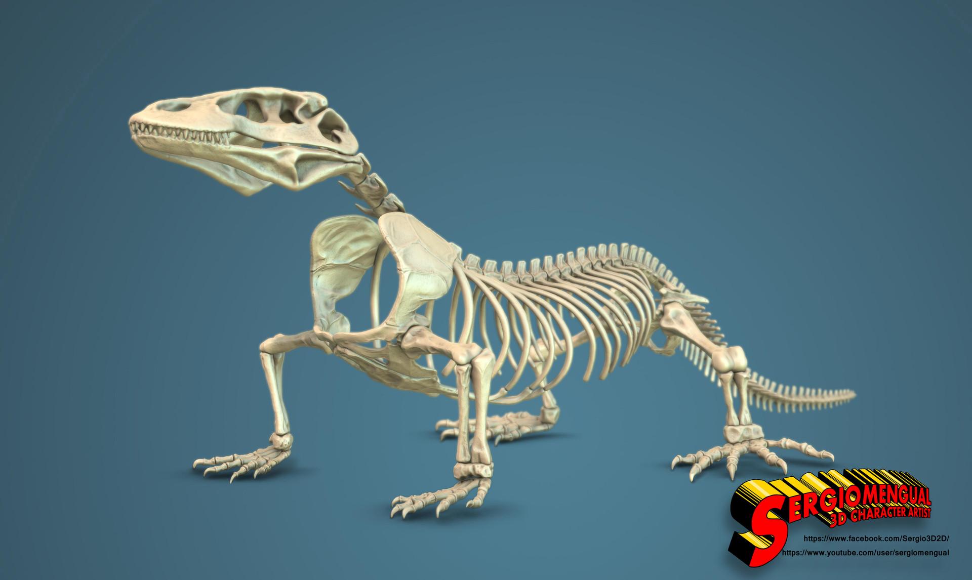 Autodesk Home Designer Sergio Gabriel Mengual Komodo Dragon Skeleton By Sergio
