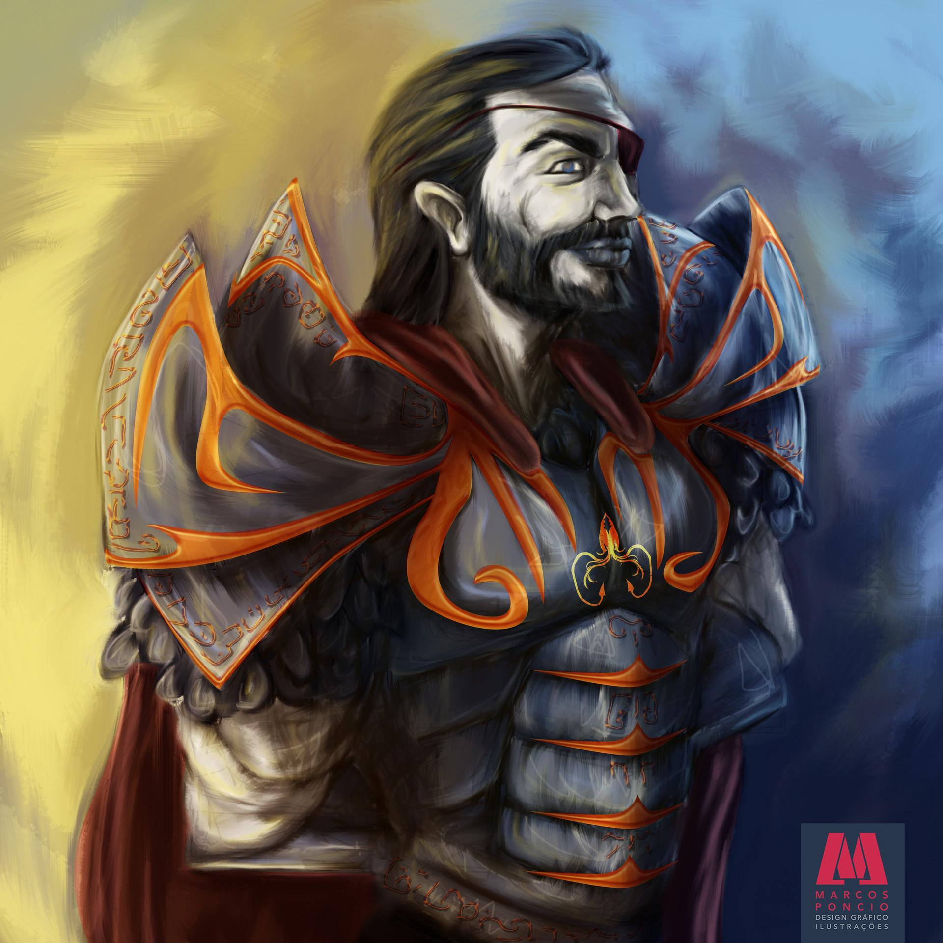 ArtStation - Euron Greyjoy, Marcos Poncio