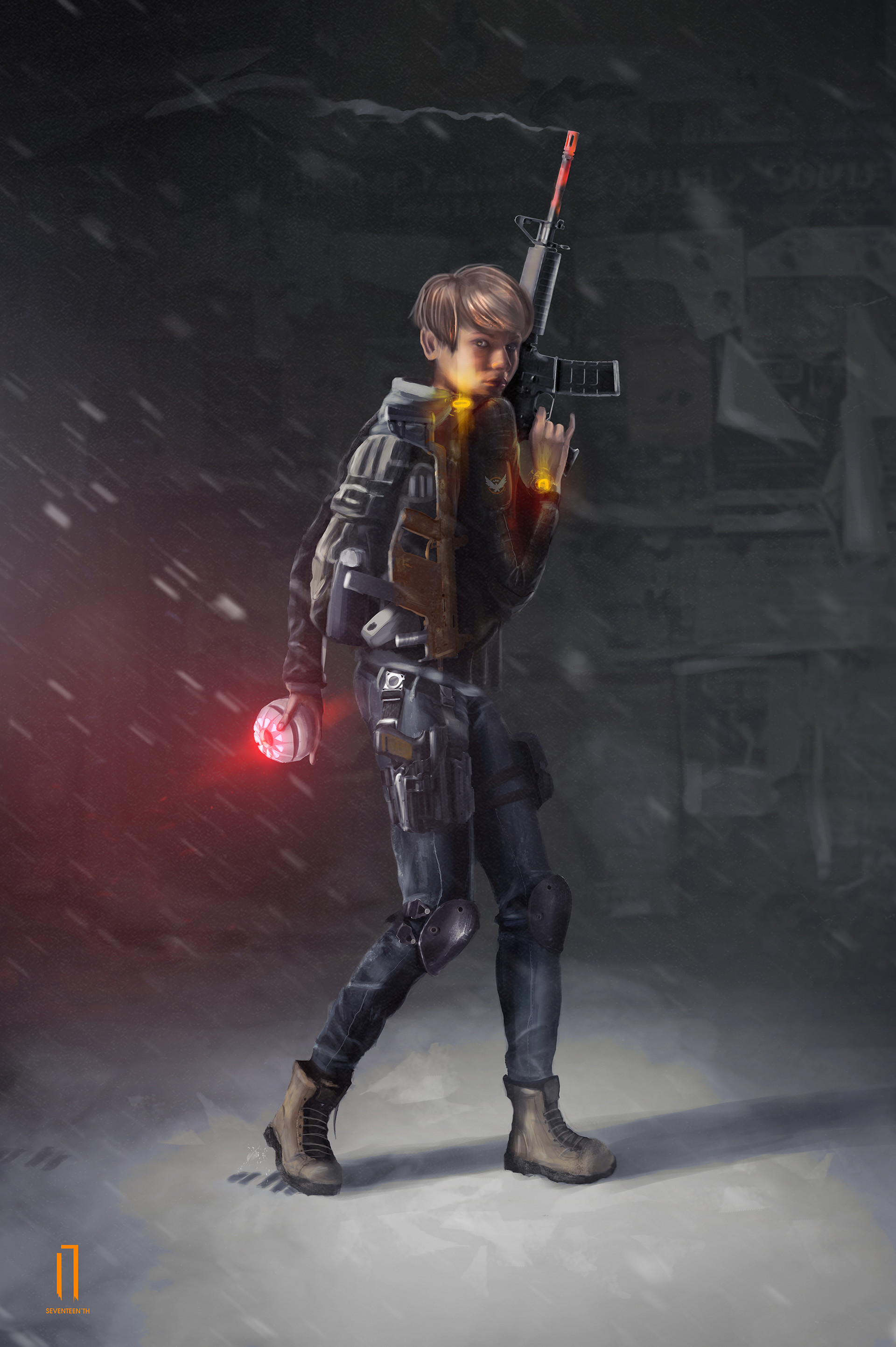 Ismail inceoglu the division girl