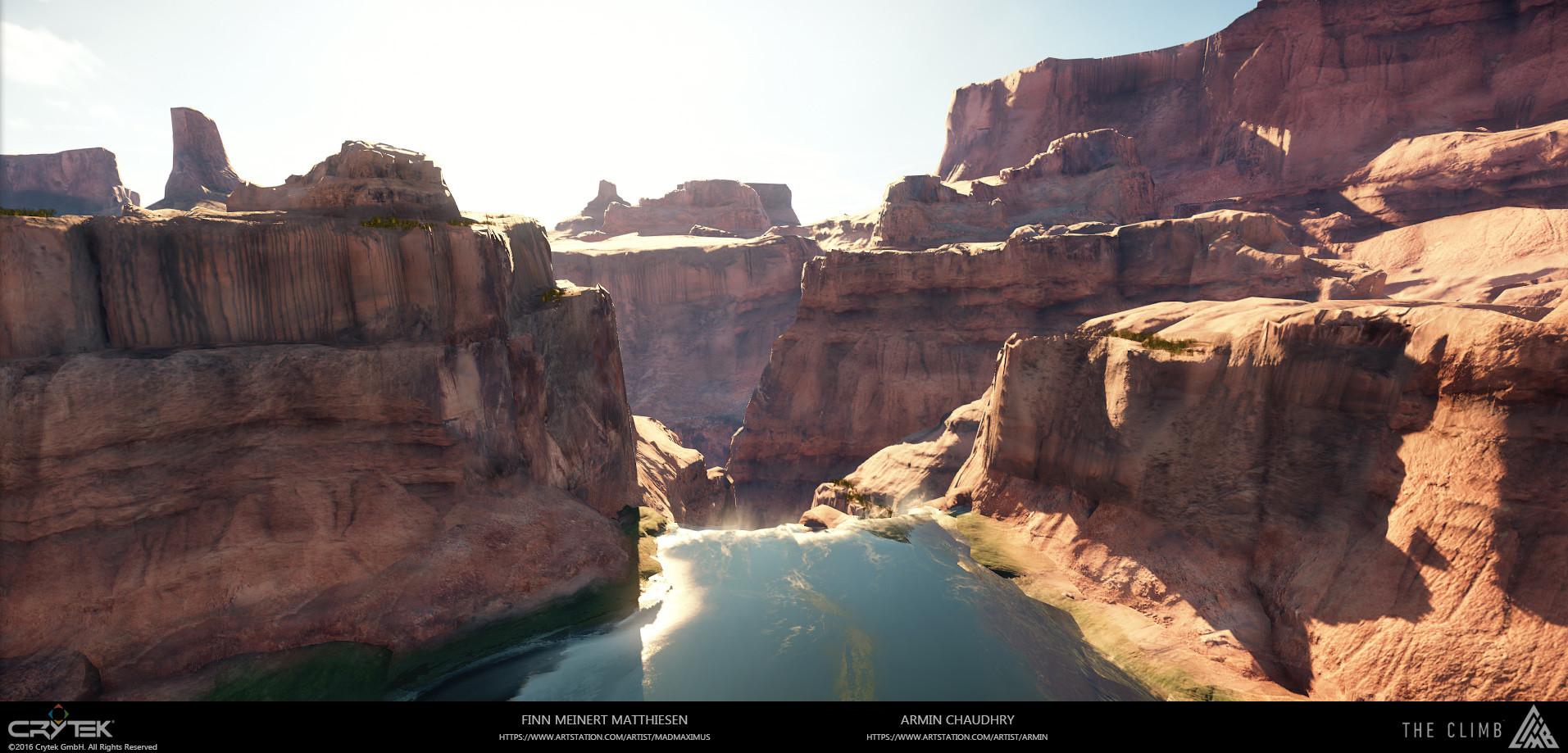 ArtStation - The Climb - USA Midday - Vista, Armin Chaudhry