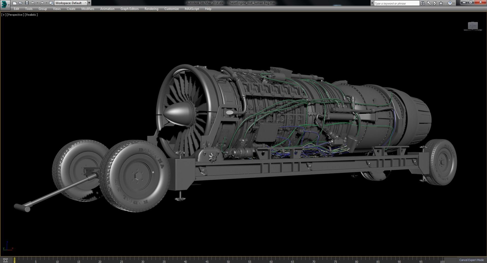 Suman Bag The Jet Engine Modeling Texturing Rendering – Jet Engine Schematics
