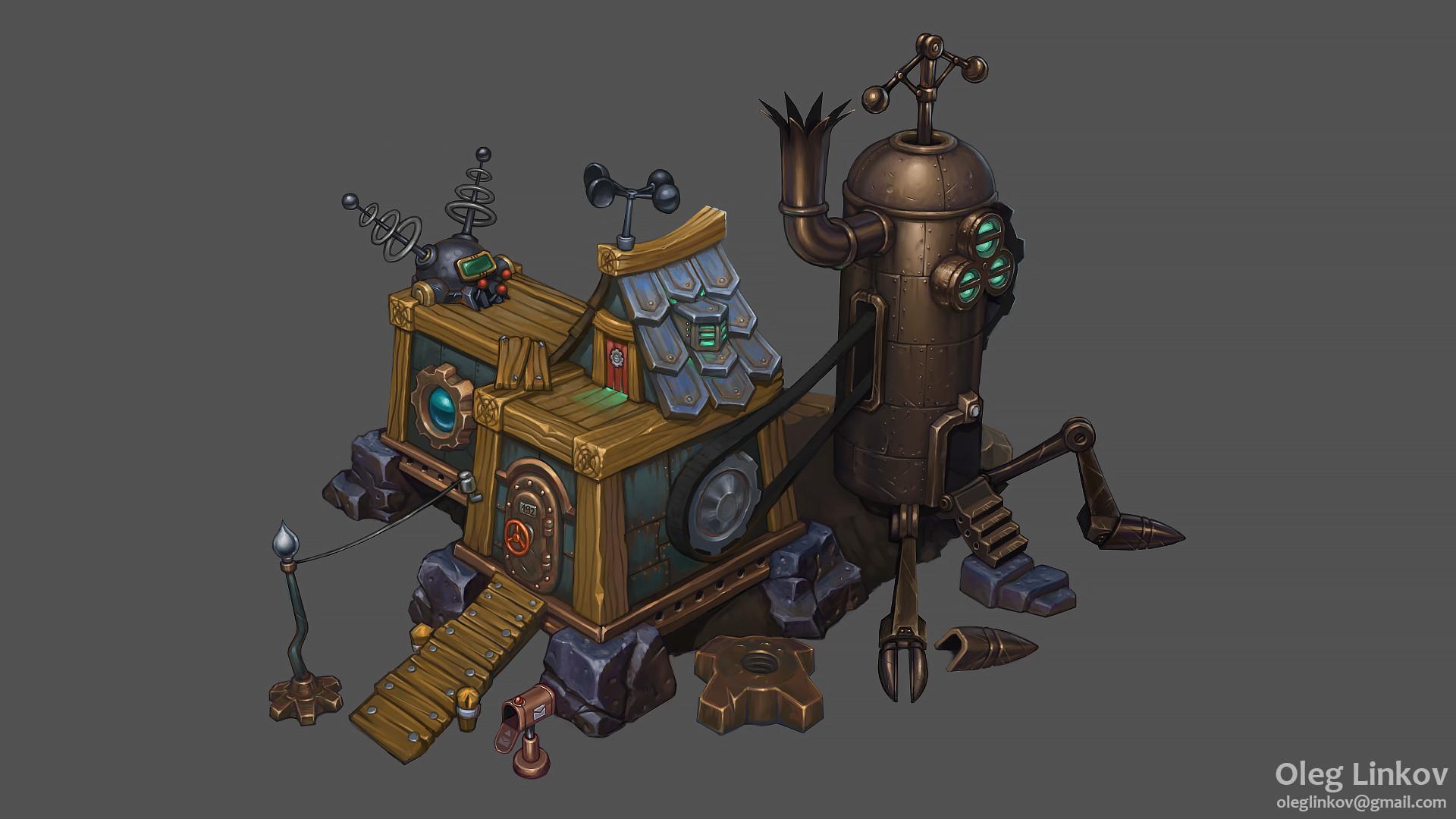 Oleg Linkov Steampunk Workshop