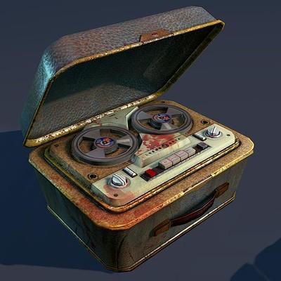 R33k magnetophone prop